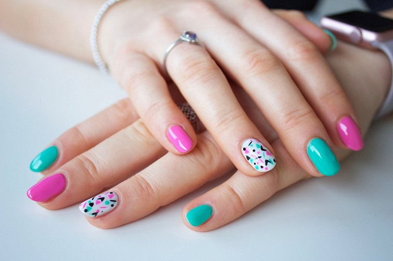 Bio Gel Nails >> Disco Dolly Nail Art With Bio Sculpture Gel Youtube Within